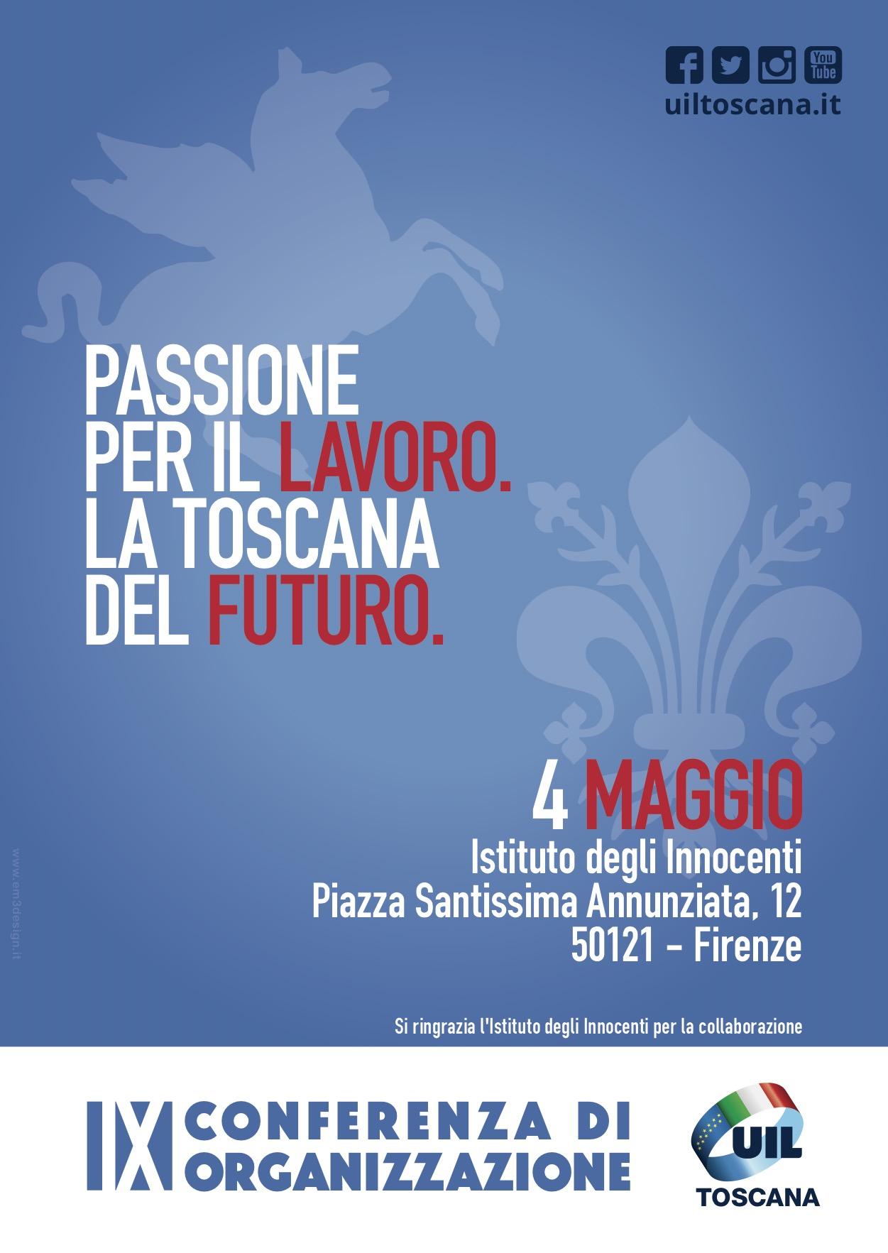 IX Conferenza di Organizzazione Uil Toscana