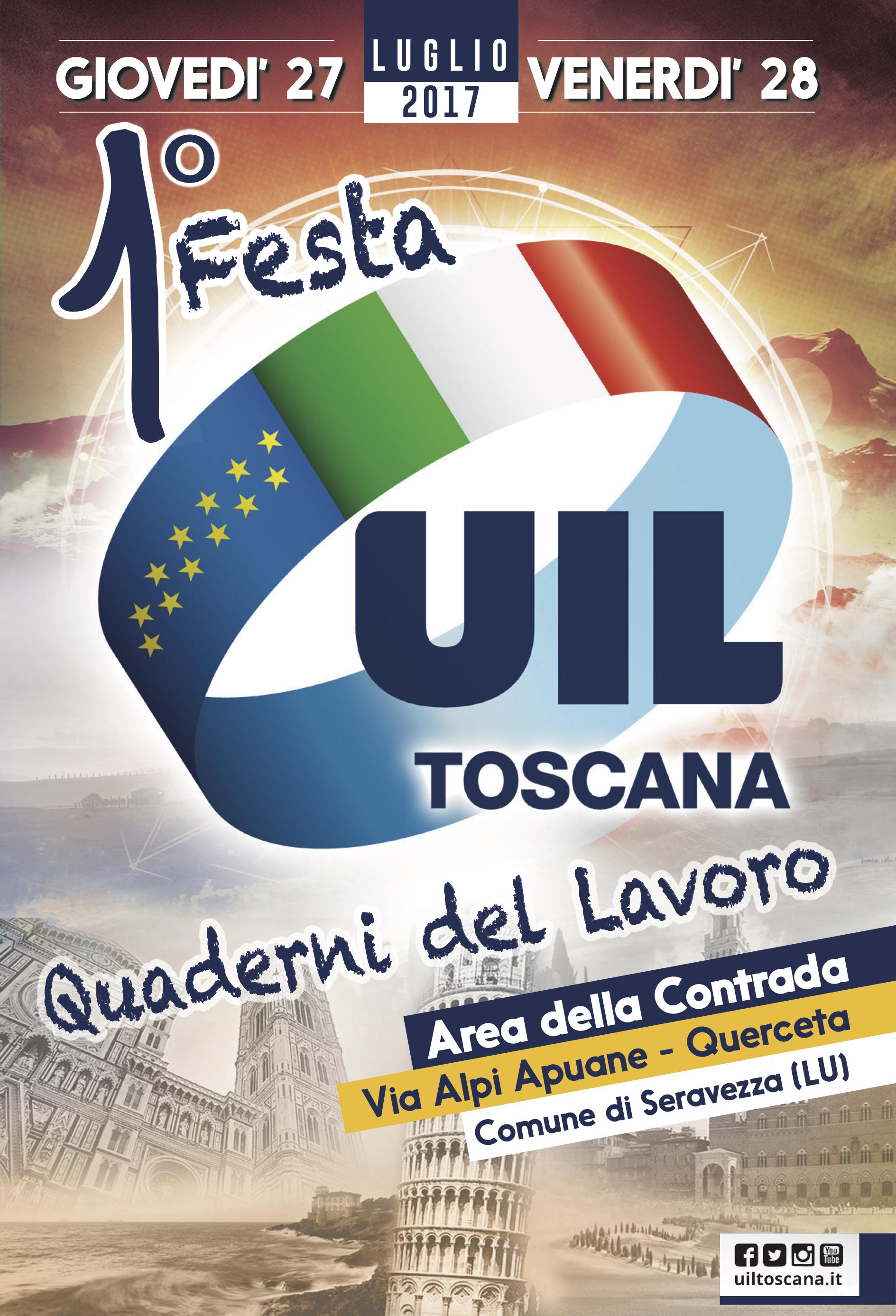 Festa Uil Toscana